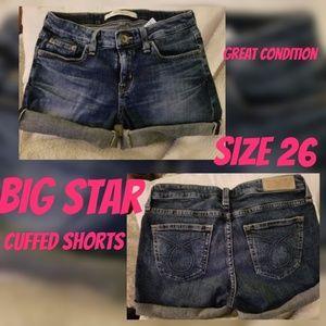 Size 26 Big Star Shorts